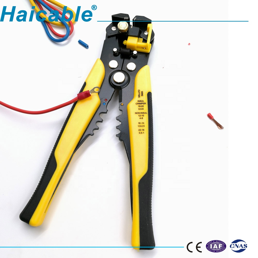 Hand <strong>Tools</strong> With Function of Stripping, Cutting and Crimping Automatic Wire Stripper