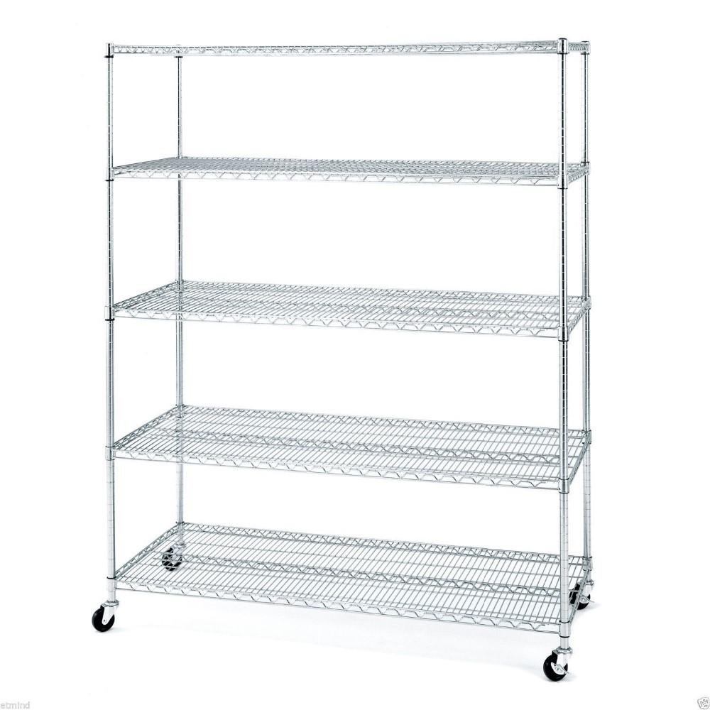 Kitchen Storage Racks Metal Metal Wire Kitchen Rack With 4 Wheelskitchen Storage Rack Trolley