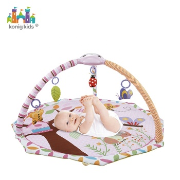Projector Play Gym Large Musical Baby Play Gym Mat Toy