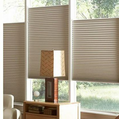 Plissado & Roman Shades Top-Down Bottom-Up e Sem Fio telefone Semi-Sem Corda/Cortinas Do Favo de mel