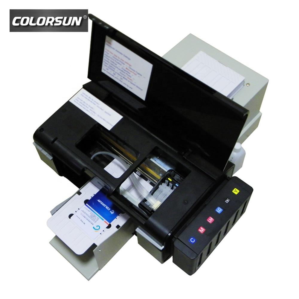 Hot verkoop voor epson printkop Drukmachine CD DVD, PVC Id-kaart digitale printer
