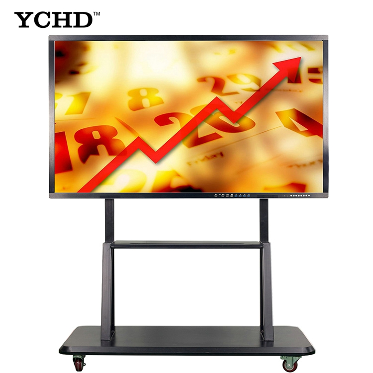 60 inch LED OPS PC all in one 4 K lcd touch screen monitor