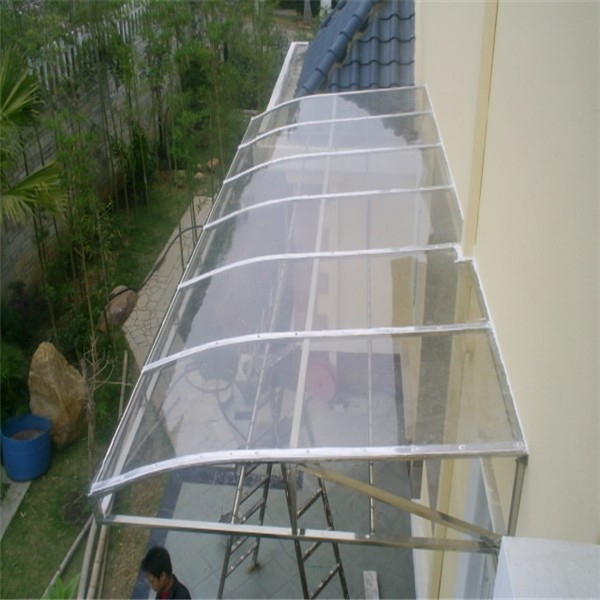 Clear Polycarbonate Window Awning Polycarbonate Sheet