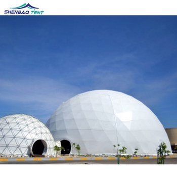 20m Diameter Event Geodesic Dome Tent With Steel Frame For Outdoor