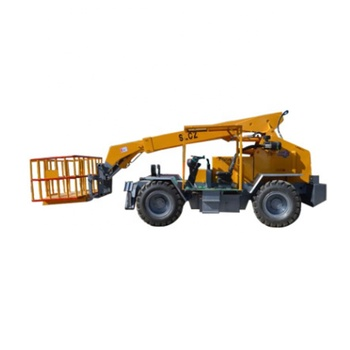 Hot sale Telescopic hydraulic wheel multifunctional forklift truck for Logistics handling