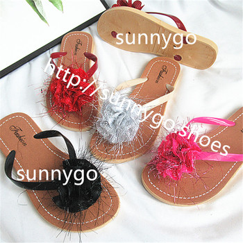 2019 summer fashion flip flops women shoes pvc beach slippers