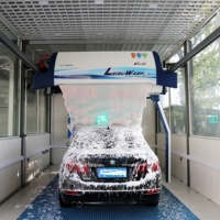 Leisu brand 360 intelligent automatic PLC control touchless/touchfree car/vehicle wash cleaning machine with factory price