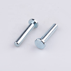 Factory Hardware Fasteners Cold Forging Mild Steel Solid Steel Rivet with Zinc Plated