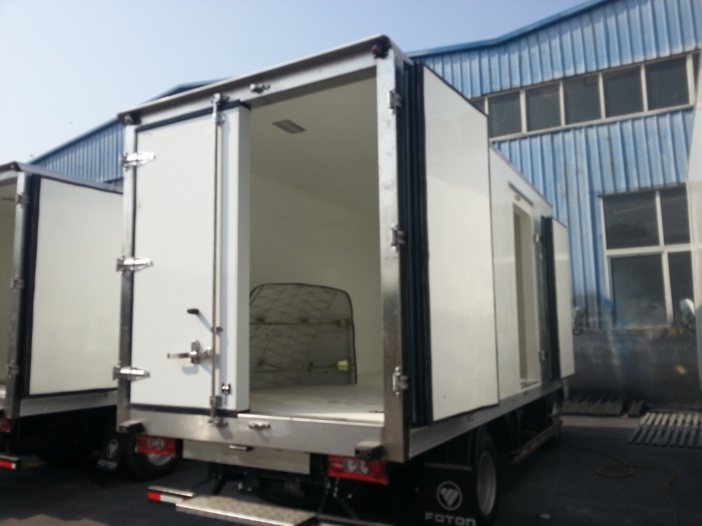 20ft Container Semi Trailer Rear Door For Refrigerated