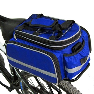 600D Multi-Functional Waterproof Bicycle Cycling Rear Trunk Bag Expandable Bike Seat bag