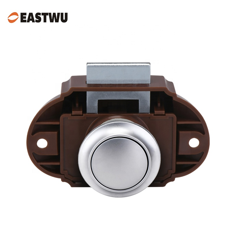 Push Button Latch Knob Lock For Drawer Cupboard - Buy Cupboard Door Caravan  Motorhome,Push Button Latch,Cupboard Push Latch Product on Alibaba com