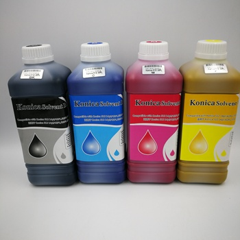 Konica 512I solvent printer solvent ink high quality