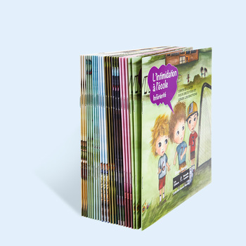 Educational Full Color Soft Cover Children Paperback Book