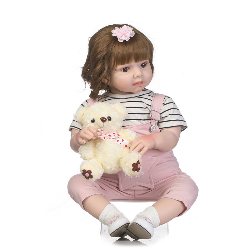 70cm China Manufacturer Cheap Lifelike 28 Inch Silicone Reborn Baby <strong>Dolls</strong> for clothing model fashion model