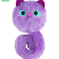 New Arrival Surprise Sound Animal Plush Flashing Toys Cat Soft Toy