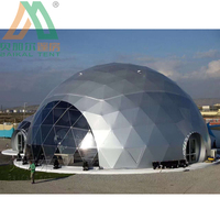 Soundproof shelter geodesic dome tent trade show tent with low price