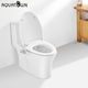 Aquaotwn wholesales non electronic manual toilet seat water jet bidet