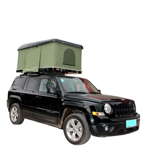Hard shell Auto Roof Top Tent Camping 4x4 Roof Rack Car