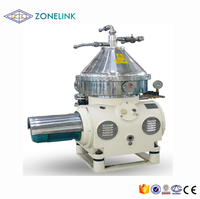 3T/H high speed automatic self clean milk degreasing disc separator for milk cream centrifuge