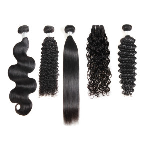 Wholesale Raw Unprocessed Virgin Cuticle Aligned Human Hair Vendors