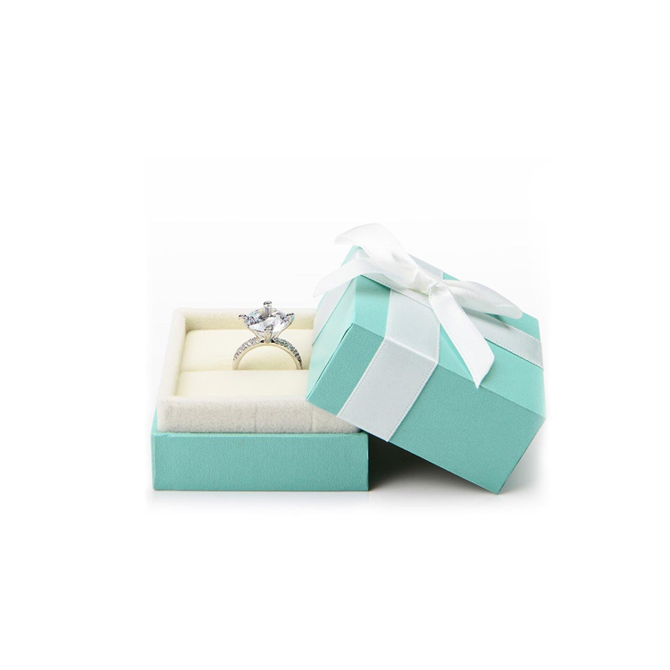 High-grade luxury cardboard jewelry gift packaging box