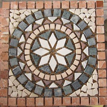 24x24 Marble Mosaic Pattern