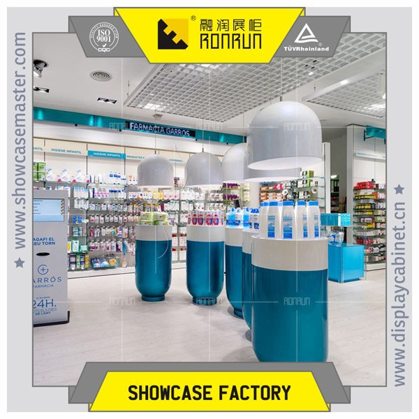 Medical store display wall cabinet and cashier counter design  medical shop  furniture. Medical Store Display Wall Cabinet And Cashier Counter Design