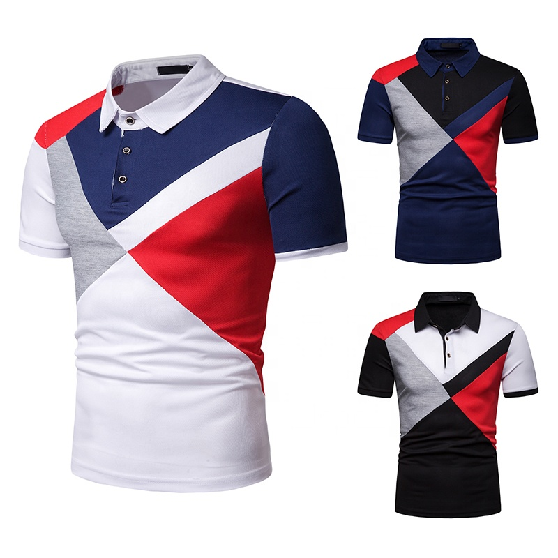 Wholesale High quality polo t- shirt short sleeve for <strong>men</strong>