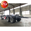 Low price drawbar Towing Dolly skeleton Container Full Trailer