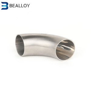Prime quality Alloy 31 UNS N08031 1.4562 nickel alloy steel pipe fittings butt welded LR elbow