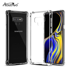 ATOUCHBO Mobile Shell Voor Samsung Note 9 Case 360 Graden Bescherm Terug Blank TPU PC Telefoon Cover