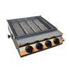 K489 Environment Friendly With 4 Burners Gas Restaurant Grill