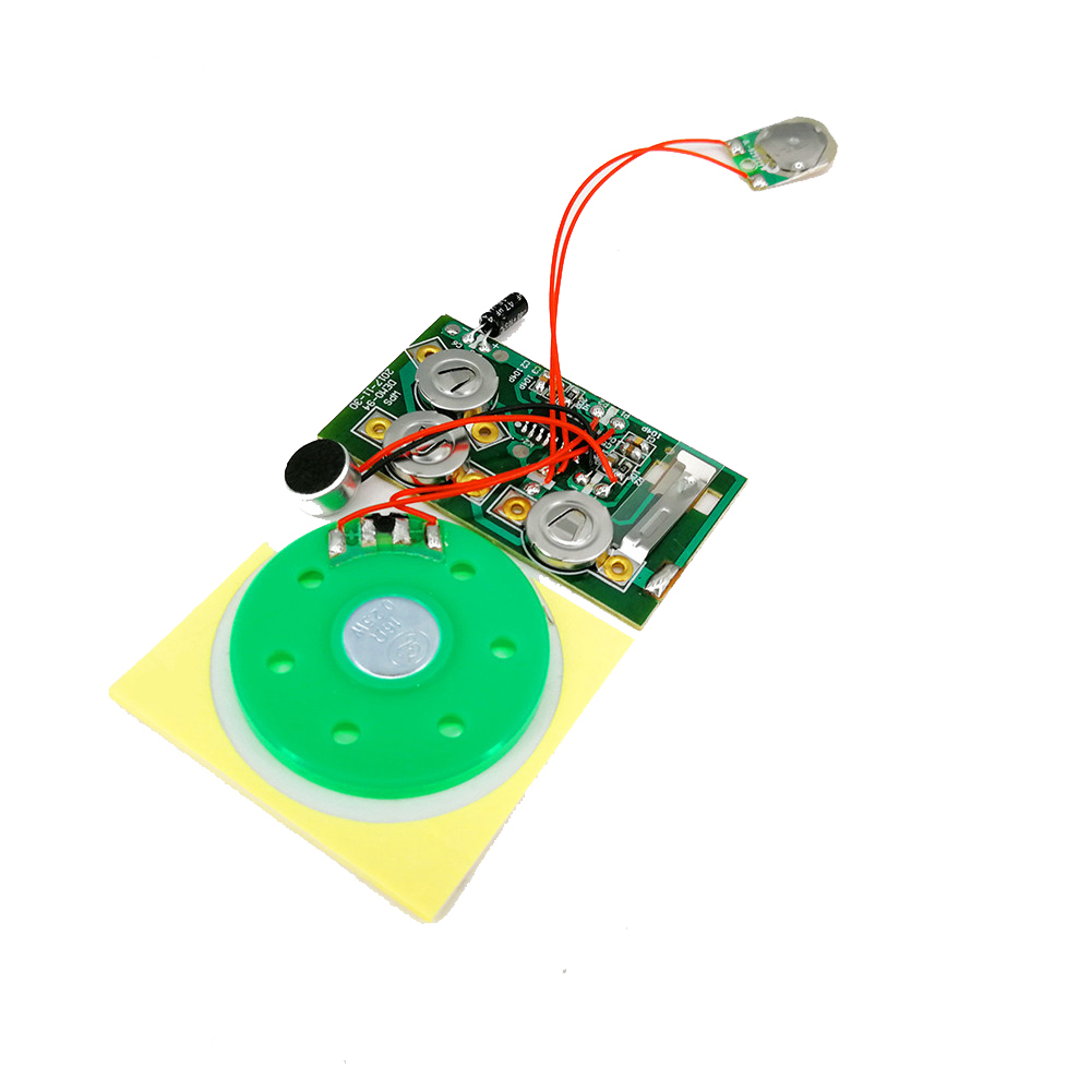 Звуковой чип для открытки