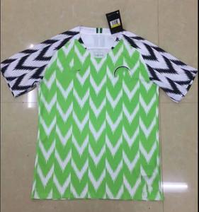 c68d317f768 Thailand Top Quality 2018 World Cup Nigeria Football Shirt Sportswear  Training Equipment Soccer Uniform Football Jersey