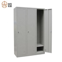 3 door bedroom portable wardrobe design for storage