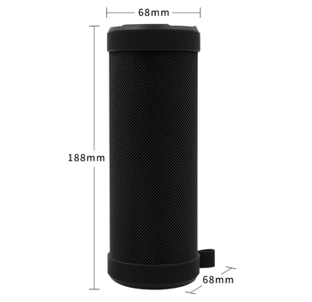 Multi function USB 3d sound wireless portable cylindrical waterproof bluetooth speaker