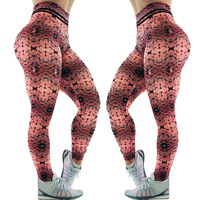 New More Popular Design Print Women Sexy Tight Compression Pants Wholesale Sublimation Custom Compression Pants