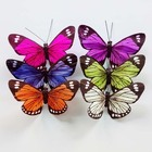 Hand-crafted artificial butterfly decorative butterflies for wedding decorations