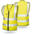 Wholesale  Europe market reflecting cycling breathable customized high visibility warning class 2 safety vests With pockets