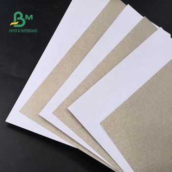 170gsm 180gsm White Clay Coated Duplex Board C1S Grey Back For Carton Making