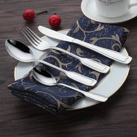 Customized Logo Silver Kitchenware Dinnerware Kitchen Cutlery
