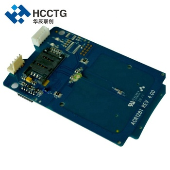 USB NFC Contactless Smart Card Reader Module With SAM Slot ACM1281U-C7