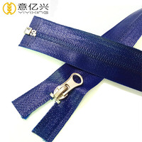 Open-End 5# Plastic Zip,Heavy Duty Auto-Lock Waterproof Zipper