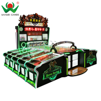 10 Players carnival game machine hot coin operated horse racing game machine