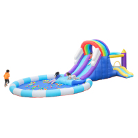 Airmyfun pvc customization kids sale best design wholesale inflables piscinas walmart con resbaladero ara nio