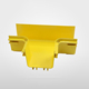 PVC ABS Yellow Fiber Optic Runner Cable Tray