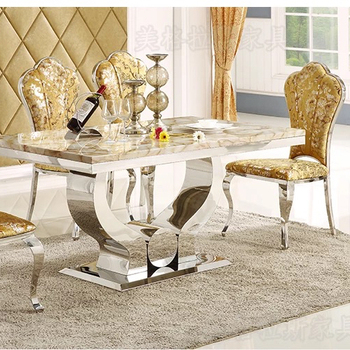 NEW KIERA FORMAL NATURAL MARBLE FLORAL FLOWER CHAIR DINING ROOM TABLE SET VP-d3007#