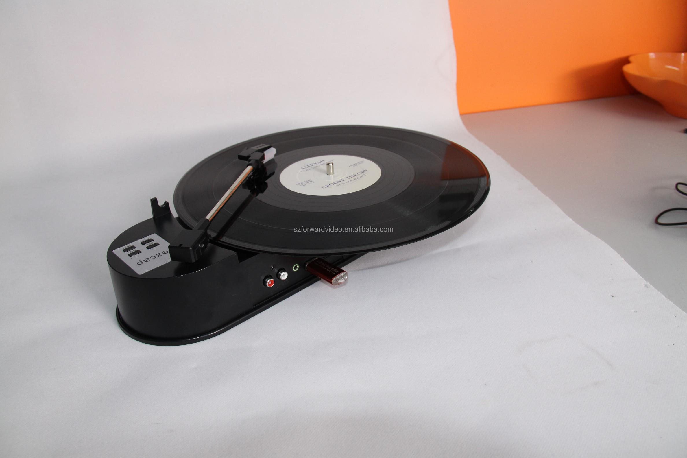 Turntable Converter,vinyl record to MP3,ezcap,audio converter,NO PC required-ezcap612