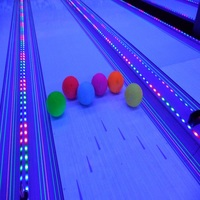 VIABowling Lane LED Running Light Strip For Tracing Bowling Ball