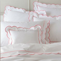 bed sheet free sample embroidery bed sheet 100% cotton baby bed sheet